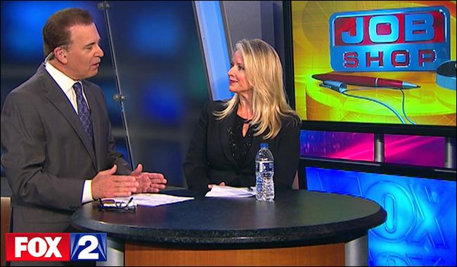 Sandy Swadish on Fox2 Detroit Job Shop