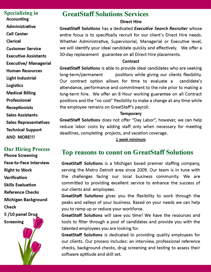 May 2020 GreatStaff Newsletter, Page 2